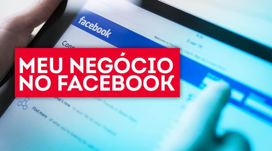 Meu negócio no Facebook
